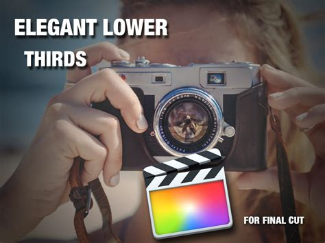 Elegant Lower Thirds For Final Cut Pro X Cut Pro Lower Thirds Templates Free