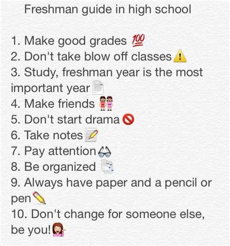 10 Tips For High School Dating by Incoming Freshman Tips While In High School School
