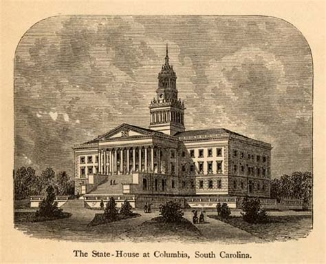 Columbia South Carolina Property Records File South Carolina State House 1875 Jpg Wikimedia Commons