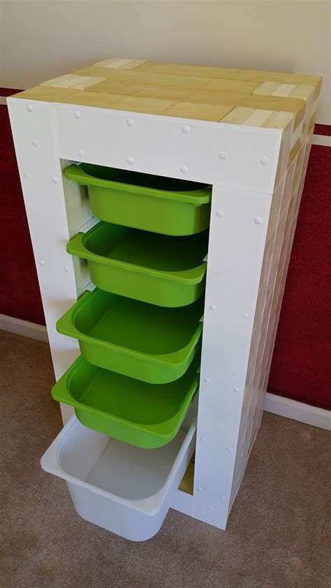 organizer bins homemade storage bin organizer made from modular building