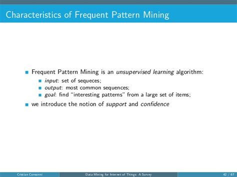 frequent pattern mining adalah cloud computing and networking course paper presentation