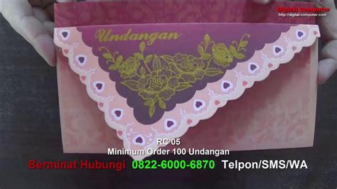 Undangan Pernikahan Blangko R 010 undangan pernikahan harga 1800 rc 05