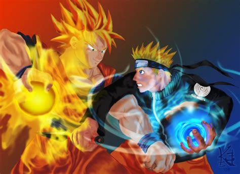 Film Naruto Vs Goku | son goku vs naruto uzumaki by naechaos13 on deviantart