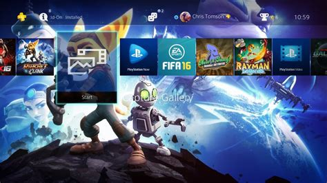 ps4 themes buy ratchet and clank ps4 theme by thomasandstanley on deviantart