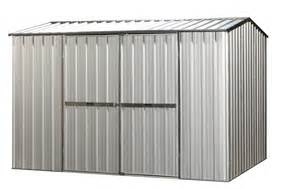 Stainless Steel Shed by Dumped Navigatingdating