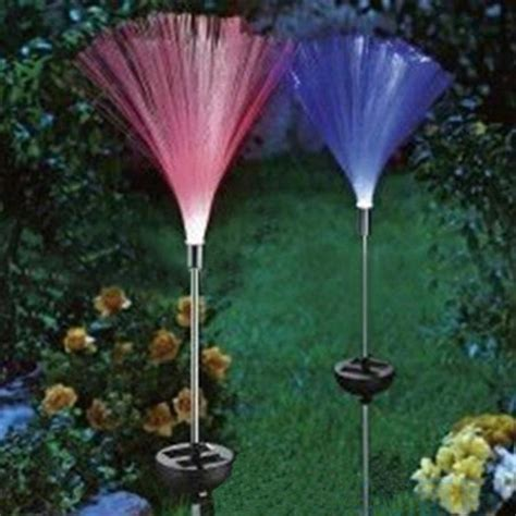 Buy Solar Fibre Optic Led Light Garden Patio Color Fibre Optic Solar Lighting