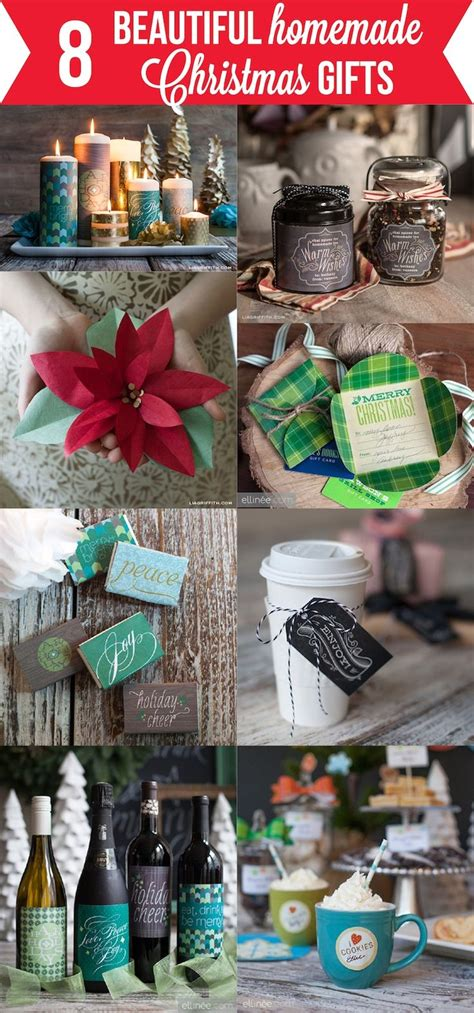8 beautiful homemade christmas gifts gift ideas pinterest