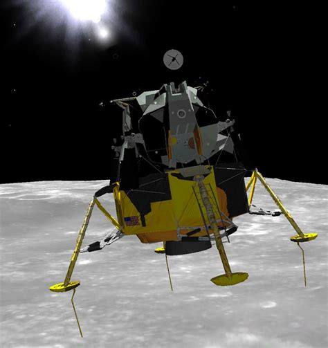 the lander picss lunar lander interior pics about space