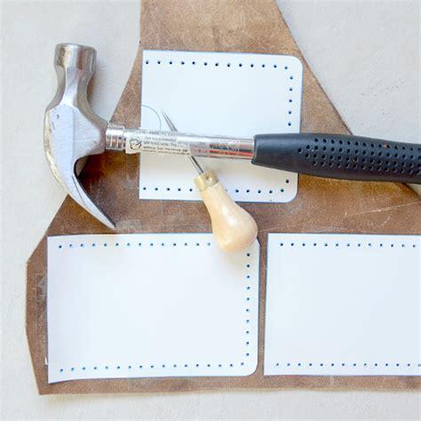 tutorial wallet handmade leather iphone case tutorial