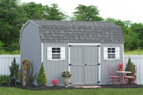 Vinyl Sided Sheds by Buy A Outdoor Vinyl Sided Storage Shed From The Amish