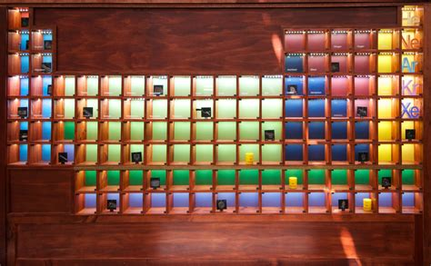 Periodic Table Of Wood by Why I Built A Wooden Periodic Table In Spare Time