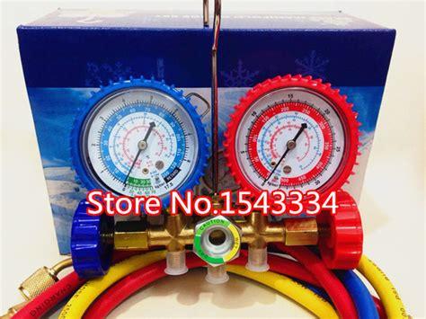 Single Manifold Ct 466 R 22 free shipping ct 536 refrigerant manifold set for r12 r22 r404a r134a quality in