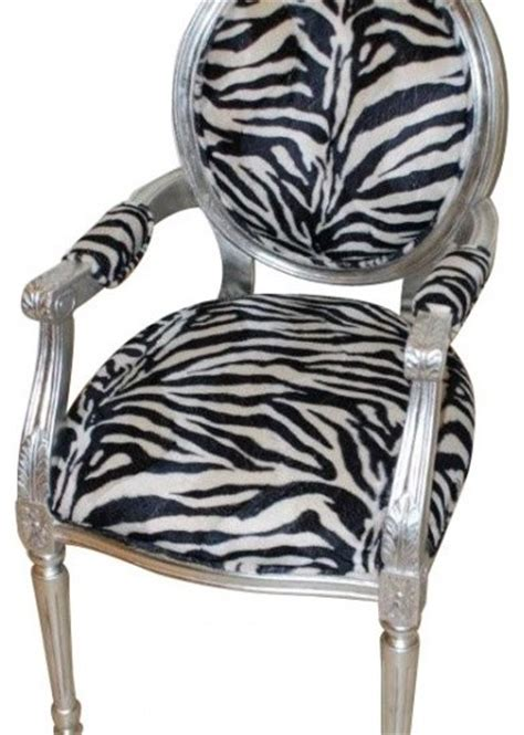 Zebra Print Dining Chairs Zebra Accent Chair