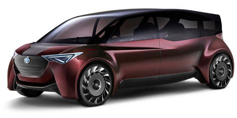 Comfortable Ride Cars by Toyota Comfort Ride Concept Car On Fuel Cells