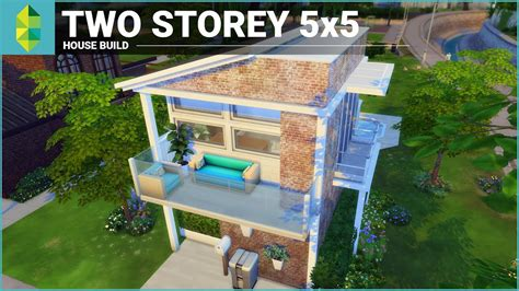 the sims 4 40x30 modern house floor plans the sims 4 house building two storey 5x5