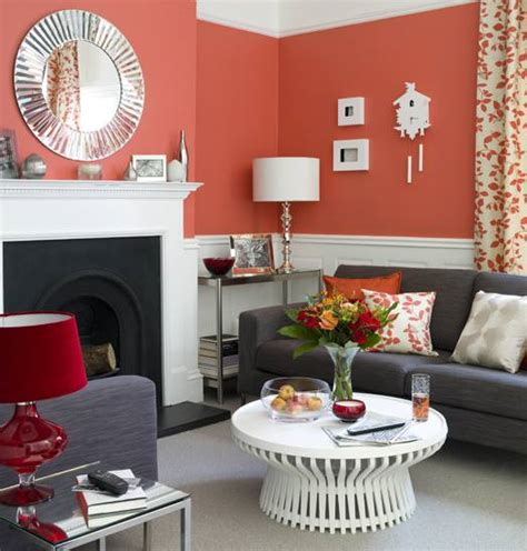 coral paint color for living room paint colors in coral the painters place