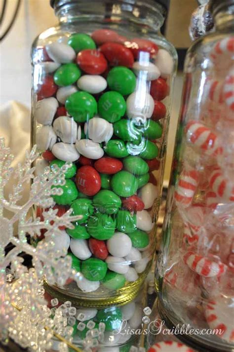 hometalk diy christmas candy jars