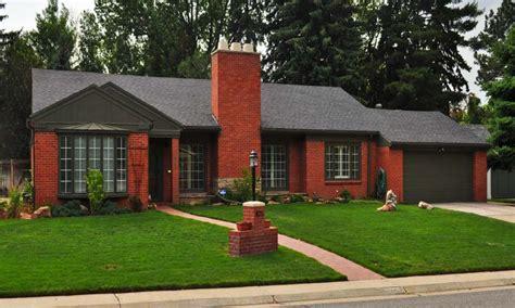 Brick Ranch House by Brick Style Homes Brick Craftsman Brick Ranch