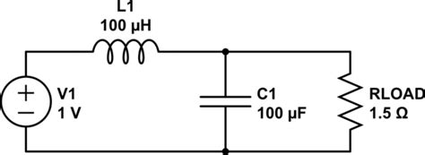 inductor filter calculator inductance to capacitance ratio in lc filter for pwm electrical engineering stack exchange