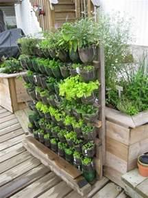 Diy Nightstand Cheap Build A Vertical Garden From Recycled Soda Bottles Diy