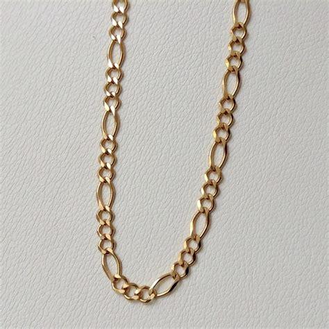 cadena oro 14k elegante cadena oro 14k cartier con estuche d regalo gbm