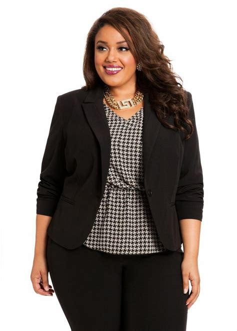 professional attire overweight women have the right career with plus size