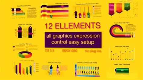 Best After Effects Infographic Templates 56pixels Com Infographic Template After Effects Free