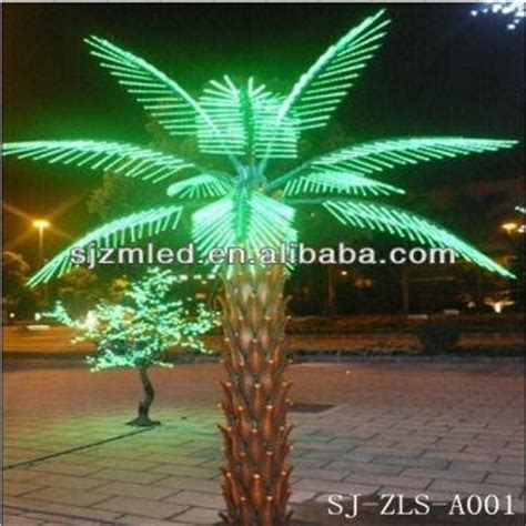 artificial trees led lights led palm tree light artificial lighted palm tree lighted