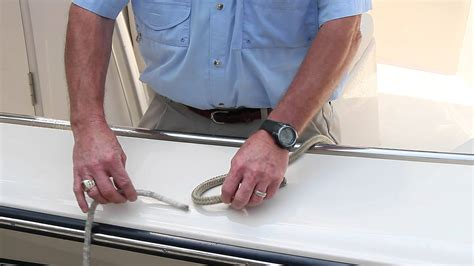 youtube boat knots basic boating knots youtube