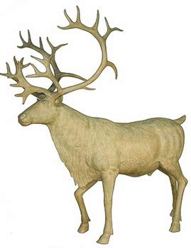 life size reindeer fiberglass resin statue for christmas