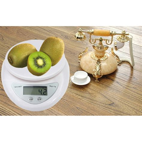 Kitchen Scale Akurasi 0 5 Gram Timbangan Dapur Portable Digital Masak mini electronic kitchen pan cheng scale 5kg 1g timbangan white jakartanotebook