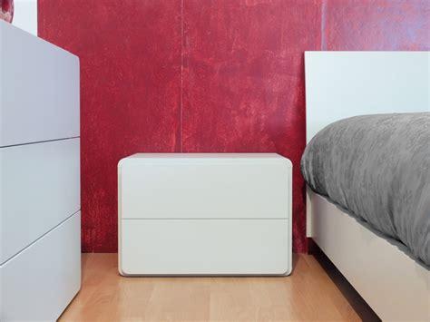 comodino laccato bianco mobilstella 242 e comodini laccato bianco opaco camere