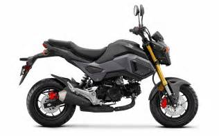 Thailand Fastis 2018 Detailed 2017 Honda Grom 125 Review Of Specs Changes