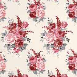 wallpaper floral chiswick cranberry floral wallpaper at laura ashley