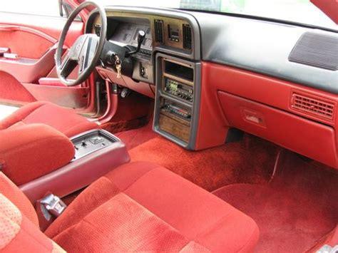 car repair manuals download 1986 mercury cougar interior lighting purchase used 1986 mercury cougar 2 door 5 0l v8 in perry oklahoma united states