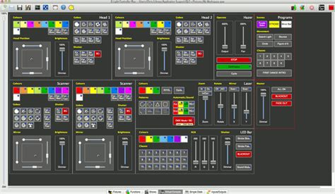 light show programming software qlc by massimo callegari