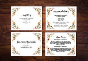 printable wedding card inserts unavailable listing on etsy
