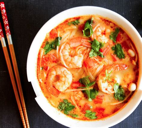 Tom Yam by Thai Tom Yum Soup With Shrimps Valerie S Keepers