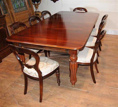 mahogany dining table set mahogany dining table set chairs balloon back