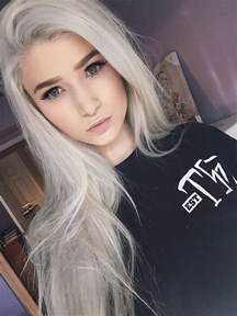 white hair color 10 awesome silver hair colors ideas makeup tutorials