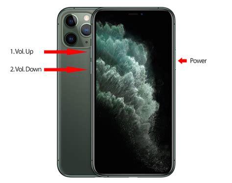 force restart hard reset iphone   pro  pro max