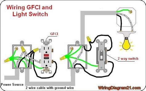 Gfci Outlet Wiring Diagram Corriente 2 In 2019 Outlet