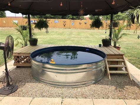 stock tank pool galvanized stock tank pool inspiration 77