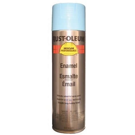 rust oleum v2123838 enamel spray paint light blue