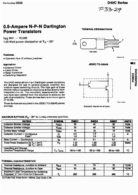 transistor d400 datasheet transistor d400 datasheet pdf here are the files you need