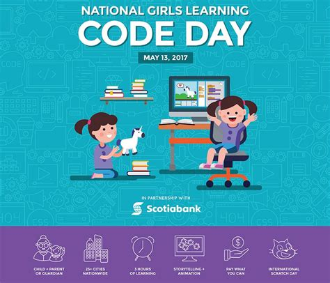 girls who code learn girls can learn to code at may 13 workshop at the cube in downtown peterborough kawarthanow