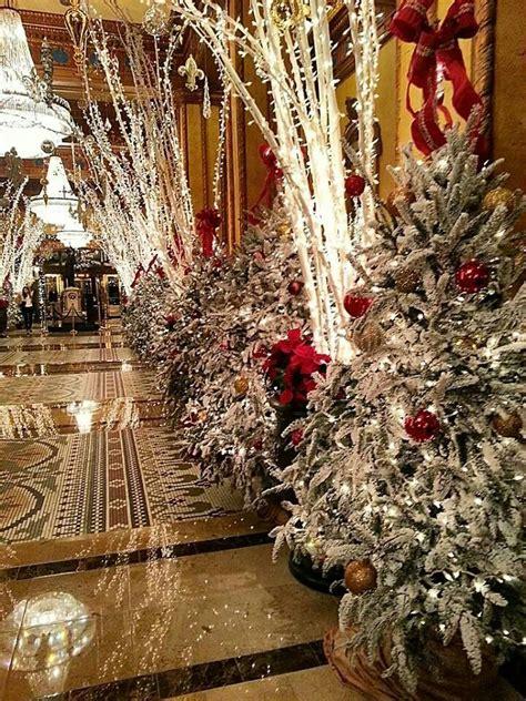 roosevelt hotel new orleans christmas trees pinterest