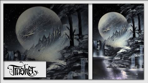 spray paint black and white tutorial black and white spray paint nature by trasher