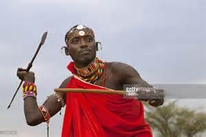 samburu tribesman throwing spear stock photo getty images