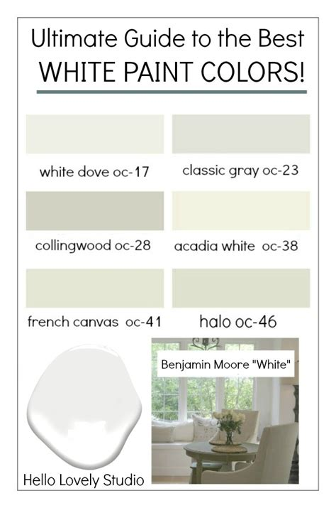 how to pick white paint how to choose the best white paint color every time home